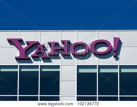 Yahoo Corporate Sign