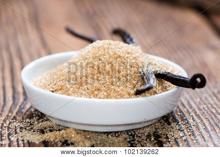 Heap Of Brown Vanilla Sugar