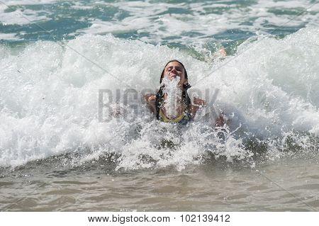 California beach fun