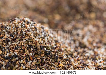Crushed Peppercorns For Use As Background Image