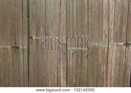 Bamboo wall wood