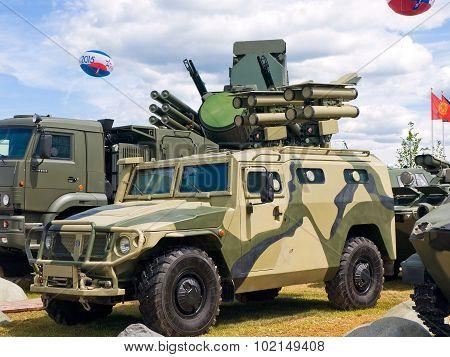 Antitank missile system (ATRA)