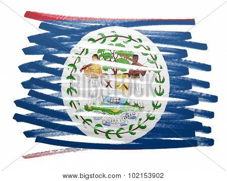 Flag Illustration - Belize