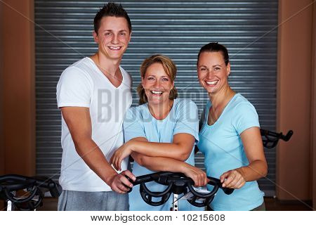 Smiling Fitness Team