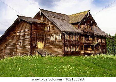 Peasant House, Kizhi Island, Russia