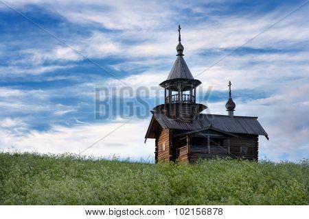Wooden Church Kizhi Island, Karelia