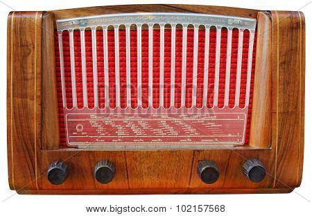 Wooden Radio Tuner