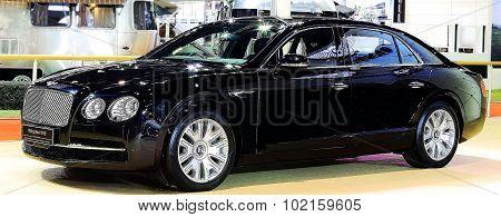 Blue Bentley Series Flying Spur W12  Luxury  Car