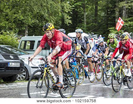 The Cyclist Adrien Petit
