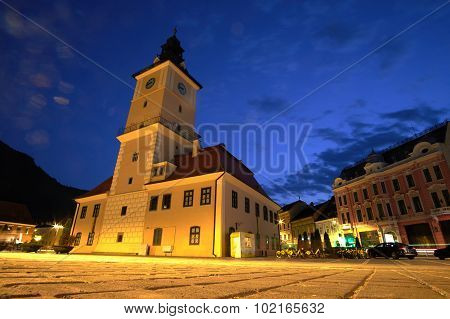 Brasov At Night
