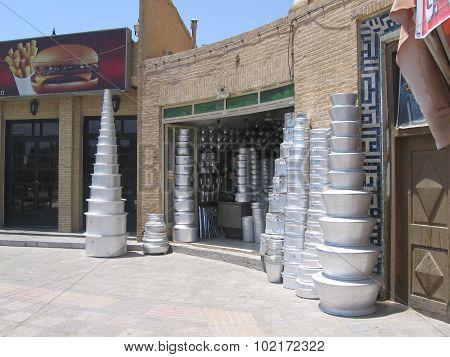 Shop of aluminium cookware