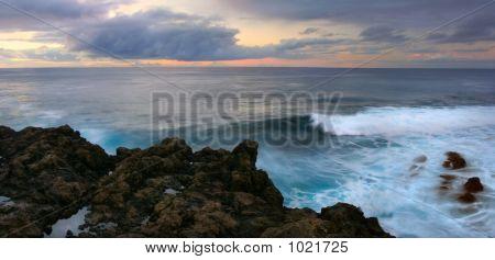 Panorama Of Atlantic Ocean