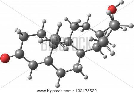 Molecule Of Testosterone