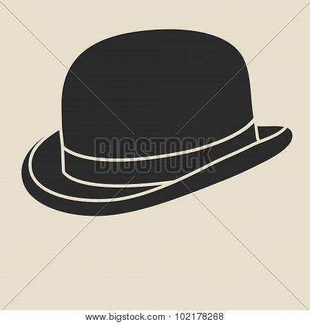 Bowler hat.