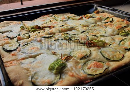 Italian home made pizza