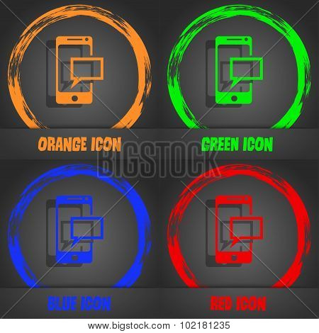 Mail Icon. Envelope Symbol. Message Sms Sign. Mails Navigation Button. Fashionable Modern Style. In