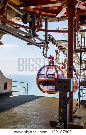 Haifa Cable Cars, sea
