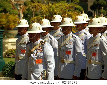 The royal guard.