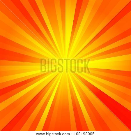 Sunny Rays Pattern Texture Background