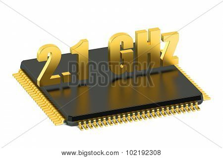 Cpu Chip For Smatphone And Tablet 2.1 Ghz Frequency