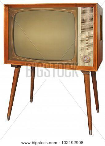 Wooden Vintage Television
