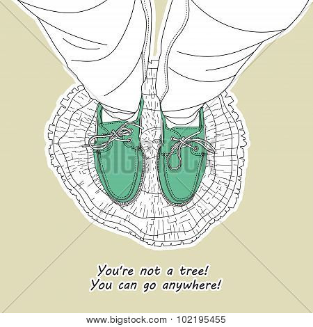 You Are Not A Tree 1.