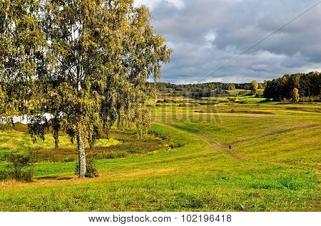 View Of The Valley Of Soroti River - Autumn Landscape