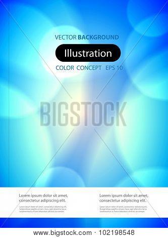 Modern abstract brochure easy all editable
