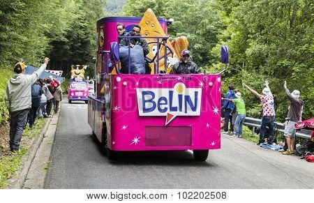 Belin Caravan In Vosges Mountains - Tour De France 2014