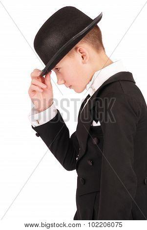 Boy In A Suit
