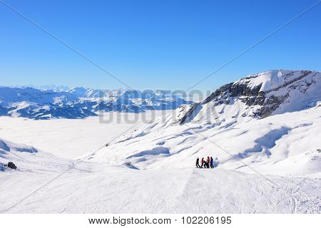 High Altitude Skiing