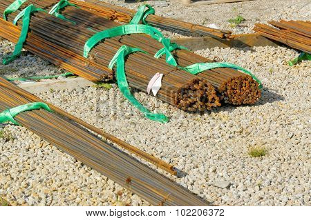Reinforcing Steel Rods Bars For Building Construction In Norway