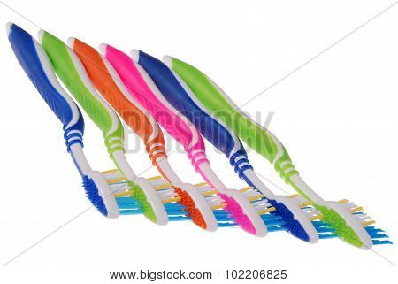 Toothbrushes (clipping Path)