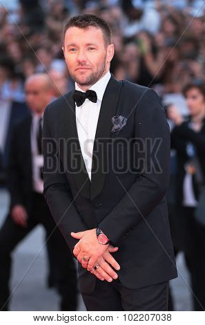 Joel Edgerton at the premiere of Black Mess at the 2015 Venice Film Festival. September 4, 2015  Venice, Italy