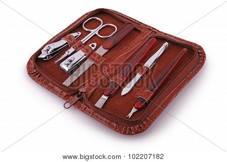 Manicure Set (clipping Path)