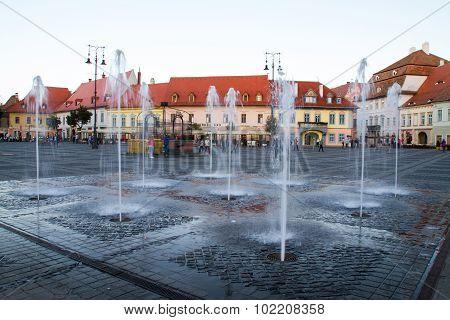 Grand Square in Sibiu