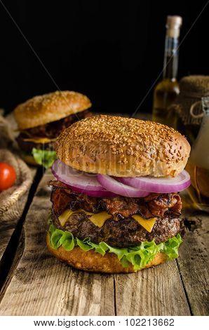 American Rustic Burger