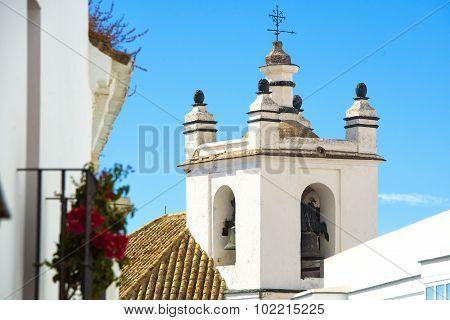 Belfry In Medina Sidonia, Andalusia, Spain.