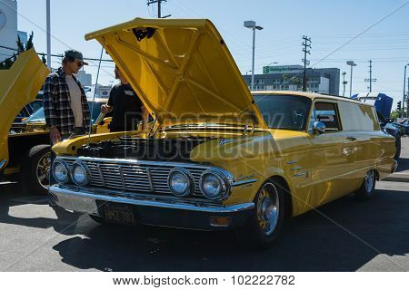 Mercury Comet Station Wagon On Display