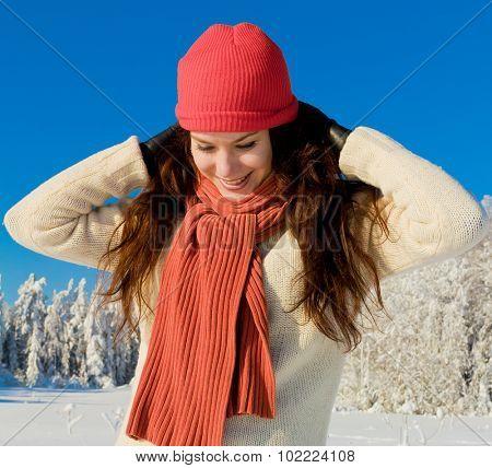 Sunny Winter Woman