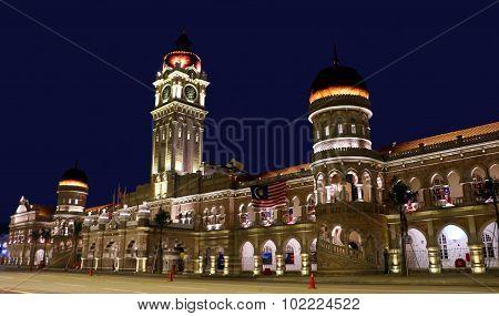 Bangunan Sultan Abdul Samad at Kuala Lumpur, Malaysia