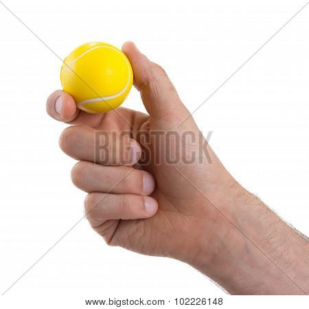 Small Toy Ball Isolated