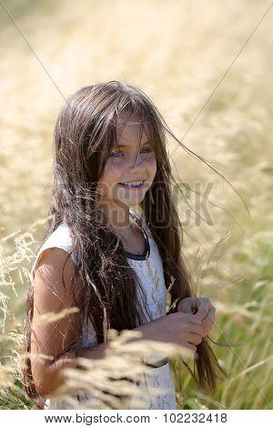 Girl In Spikelet