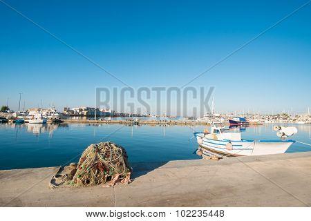 Santa Pola Harbor