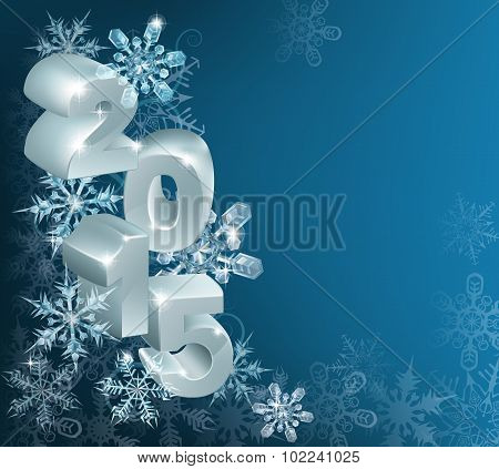 Christmas Or New Year 2015 Background