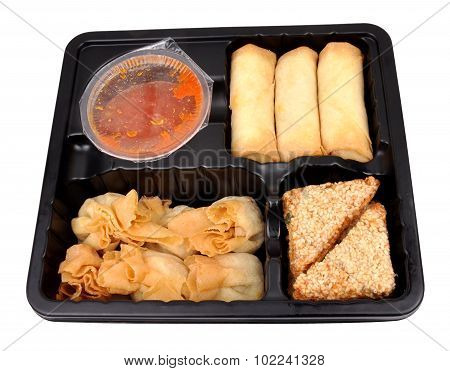 Pack Of Chinese Dim Sum Snacks