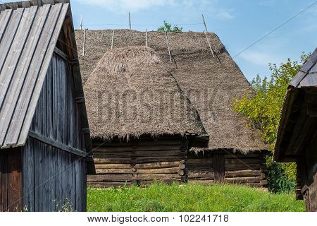 Countryside Wooden Houses