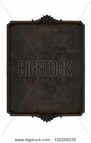 Antique menu board.