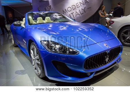 2015 Maserati Granturismo Mc Centennial Edition Coupe