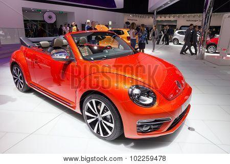 Volkswagen Beetle Cabrio Wave